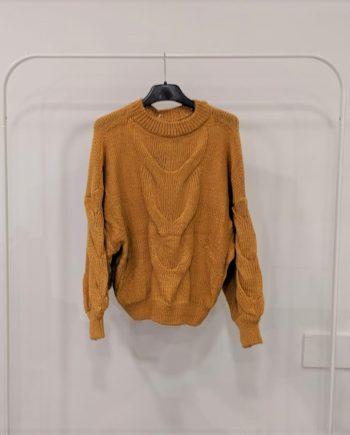 Maglione Debora Couture TX0065 (Senape)