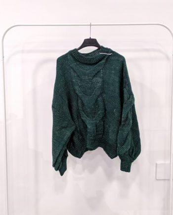Maglione Debora Couture TX0065 (Verde)