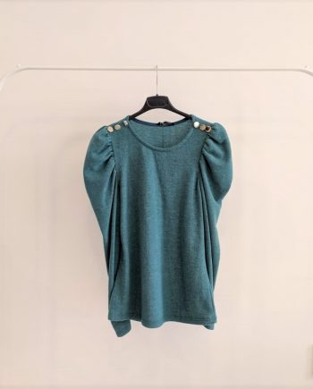Maglione Debora Couture15366 (Verde petrolio)
