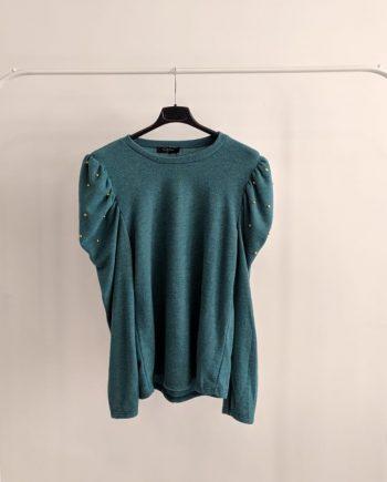 Maglione Debora Couture15367 (Verde petrolio)