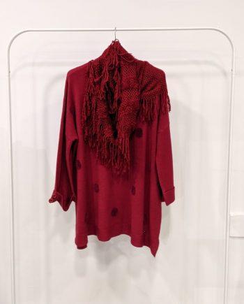 Maglione Over Debora Couture 19871 (Bordeaux)