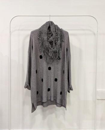 Maglione Over Debora Couture 19871 (Grigio)