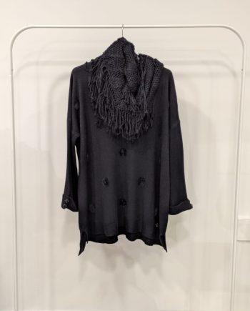 Maglione Over Debora Couture 19871 (Nero)