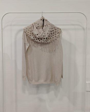 Maglione Over Debora Couture 7523 (Beige)