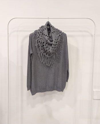 Maglione Over Debora Couture 7523 (Grigio)