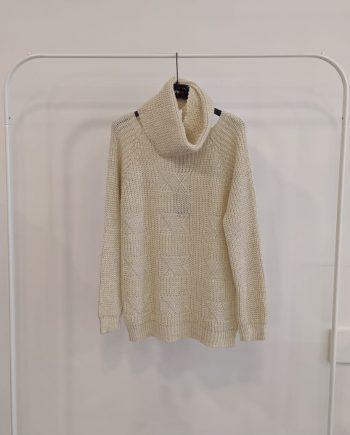 Maglione Over Debora Couture 8799 (Beige)