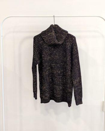 Maglione Over Debora Couture 8799 (Nero)