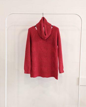 Maglione Over Debora Couture 8799 (Rosso)
