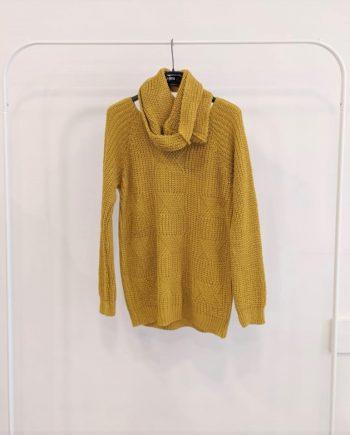 Maglione Over Debora Couture 8799 (Senape)