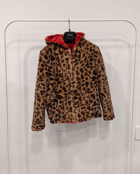 Pelliccia Reversibile Debora Couture 0661 (Rosso arancio) (4)