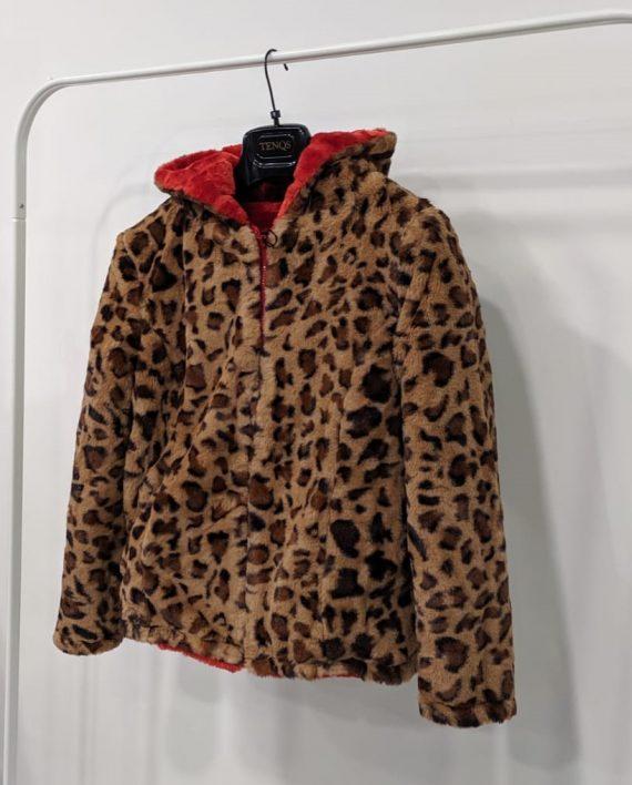 Pelliccia Reversibile Debora Couture 0661 (Rosso arancio) (5)