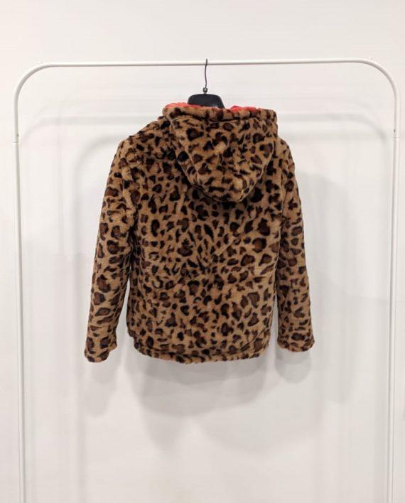 Pelliccia Reversibile Debora Couture 0661 (Rosso arancio) (6)