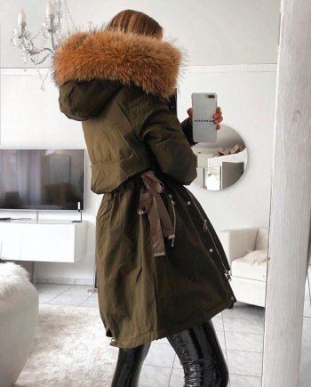 Parka Debora Couture 332 (Verde)