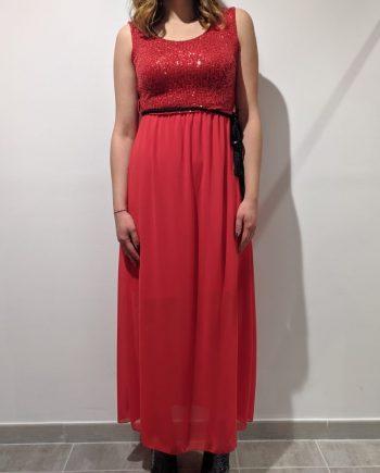 Abito Debora Couture 59100 (Rosso)
