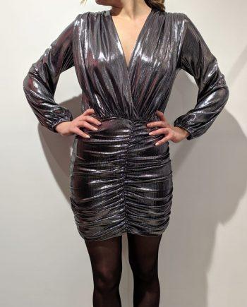 Abito Debora Couture A6076 (Argento)
