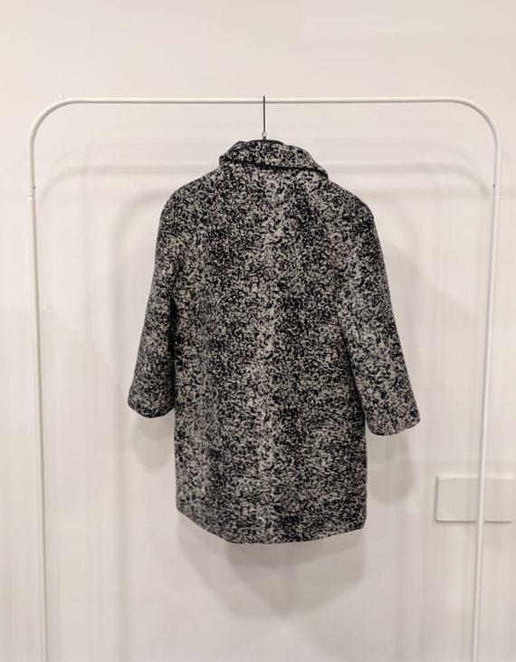 Cappotto debora couture 106171 (Bianco e nero) (3)