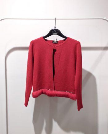 Cardigan Debora Couture 08381 (Rosso)