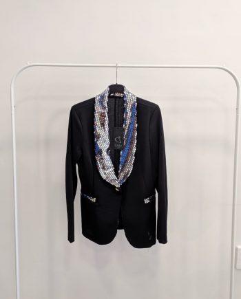 Giacca Debora couture F839 (Argento)