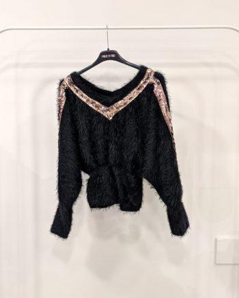 Maglia Debora Couture 10894 (Nero)