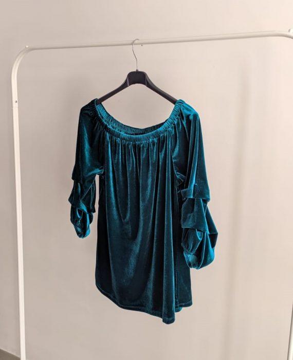 Maglia Debora Couture 7569 (Ciano) (2)