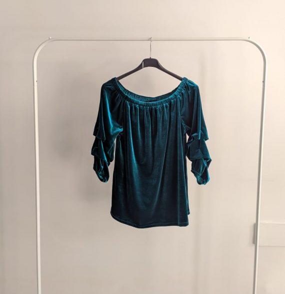 Maglia Debora Couture 7569 (Ciano)