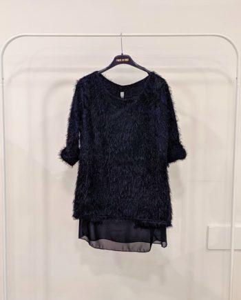 Maglia Debora Couture A996 (Nero)