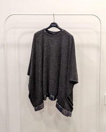 Poncho Debora Couture 0066 (Grigio)