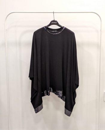 Poncho Debora Couture 0066 (Nero)